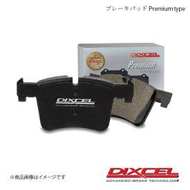 DIXCEL ディクセル ブレーキパッド Premium/プレミアム リア Alfa Romeo 164 3.0i V6 24V Q4 164K1H/164K1M/164K1C 94/2〜99