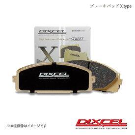 DIXCEL ディクセル ブレーキパッド X リア CHRYSLER/JEEP VOYAGER RG33S 01/05〜08