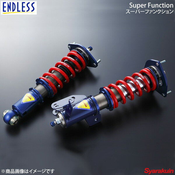 [ ENDLESS ] ZEAL SUPER FUNCTION 車高調 ランサー CZ4A ZS605SF3R