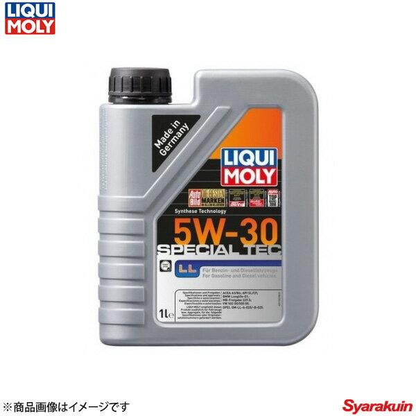 LIQUI MOLY リキモリ エンジンオイル スペシャルテックLL 5W-30 5リットル×1/1リットル×4 BMW アクティブハイブリッド E72 X6