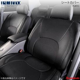 PURTO/プルト シートカバー ブラック Mercedes Benz Bクラス W245 H19/1〜H24/5 非可倒式シート/リアセンターアームレスト無し車