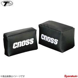 TAKE OFF/テイクオフ CROSS ニーパッド Sサイズ[CNP0011]+Lサイズ[CNP0012] 2個1セット