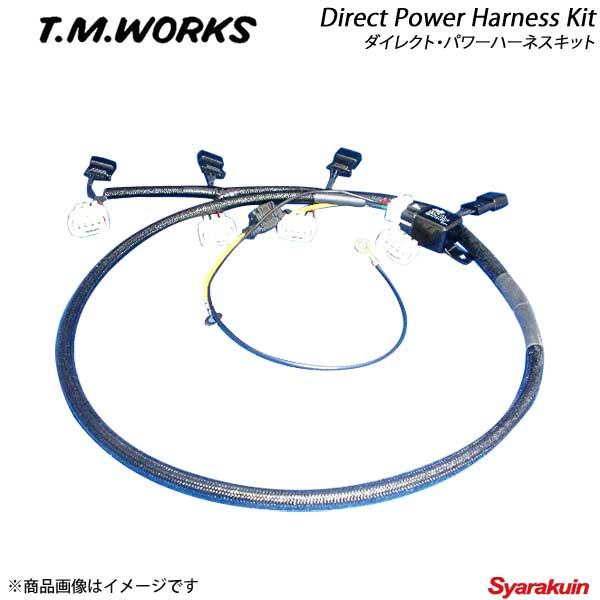 T.M.WORKS ティーエムワークス ダイレクトパワーハーネスキット MAZDA ラピュタ HP21S K6A 660cc