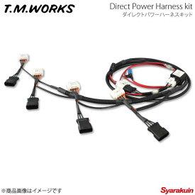 T.M.WORKS ダイレクトパワーハーネスキット MR-S ZZW30 1800cc 1ZZ-FE 99.10〜 DP1001
