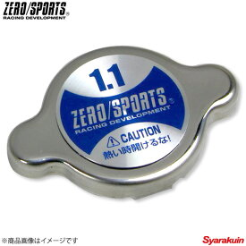 ZEROSPORTS/ゼロスポーツ ラジエターキャップ 1.1k(108kPa) 適合車種:スバル車 水温 LLC 0308005
