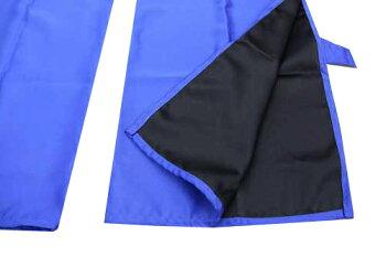 トラック用カーテン・ブルー・青色