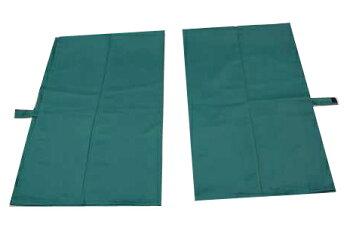 トラック用カーテン・グリーン・緑色