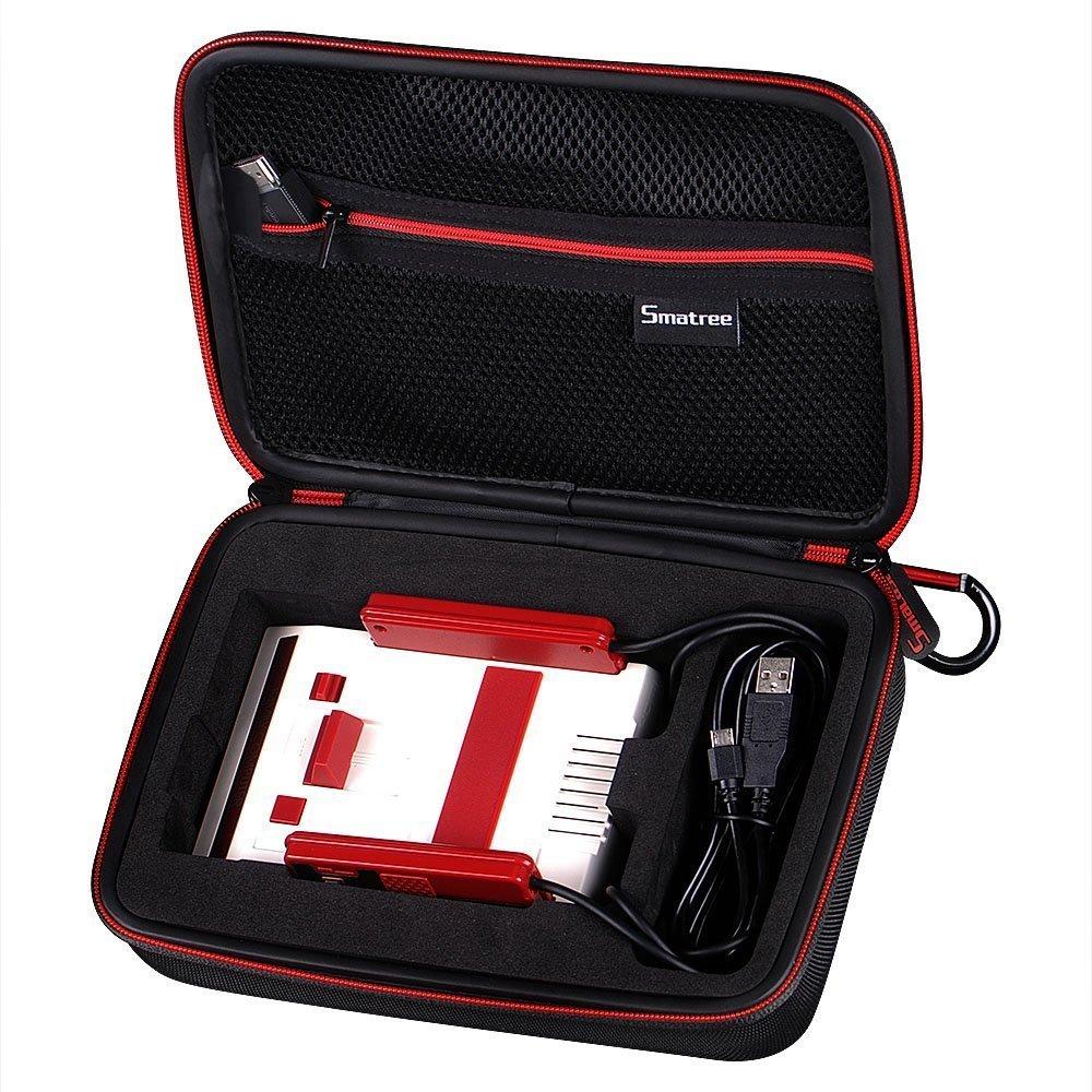 【Nintendo】Smatree 任天堂 ニンテンドークラシックミニ ファミリーコンピュータ 収納ケース 保護ケース、バッグ N180