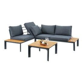ソファー 大型 ガーデンソファ&テーブルセット ソファ テーブル コーナーソファ