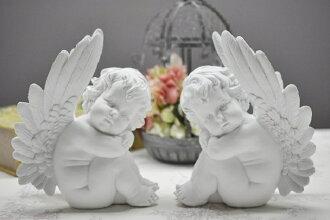 Curti 恩格尔大天使小雕像天使天使