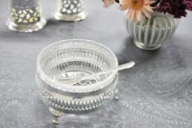 シルバー シュガーボウル 砂糖入れ 薬味入れ 調味料入れ イギリス製 QUEEN ANNE (クイーンアン) テーブル キッチン雑貨