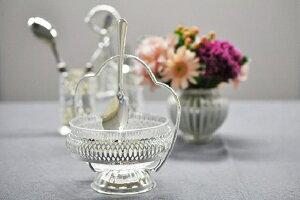 シルバー ジャムディッシュ イギリス製 QUEEN ANNE (クイーンアン) テーブル キッチン雑貨