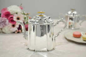 シルバー ティ−ポット イタリア製 Royal Family (ロイヤルファミリー) テーブル キッチン雑貨