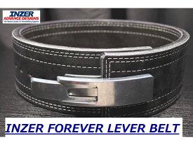 INZER(インザー)レバー アクション ベルト 筋トレ用トレーニングベルト パワー リフティング ベルト 10mm