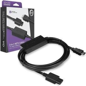 レトロゲーム HDMI変換ケーブル ゲームキューブ/N64/スーパーファミコン専用 ハイパキン HDTV CABLE FOR GAMECUBE/N64/SNES HYPERKIN