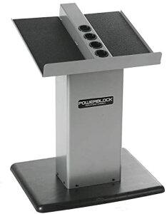 パワーブロック PowerBlock 大型コラムスタンド シルバー/ブラック モデル:大型コラムスタンド シルバー