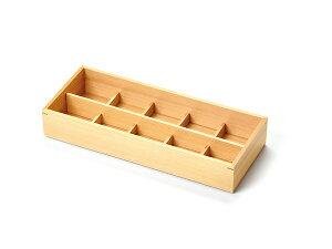 10仕切 ひのき おつまみ料理箱 キッチン 日本製 木製 檜 料理演出 飲食店 ホテル 旅館