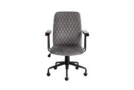 オフィスチェア グレー ワークチェア チェアー デスク用チェア いす 椅子 キャスター ワークチェアー パソコンチェア デスクチェア PCチェア OAチェア 学習椅子 いす 椅子 おしゃれ 大人シック クラシカル 高級感