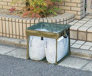 ゴミ出しネット ゴミネット カラスよけ 猫よけ 日本製 ゴミ出し番長 折りたたみ ゴミボックス ゴミステーション ゴミ収集箱 モスグリーン 敬老の日