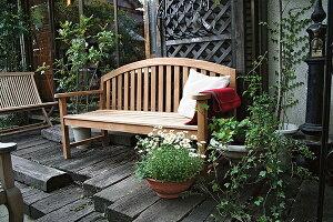 レインボーベンチ 木製 ガーデンチェアー ガーデンベンチ 長椅子 イス チェア チェアー 椅子 おしゃれ アンティーク モダン レトロ