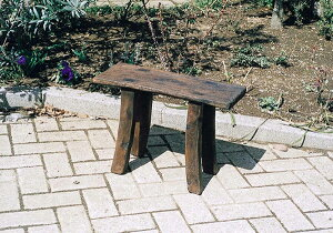 ロングベンチSS 木製 ガーデンチェアー ガーデンベンチ イス チェア チェアー 椅子 おしゃれ アンティーク モダン レトロ