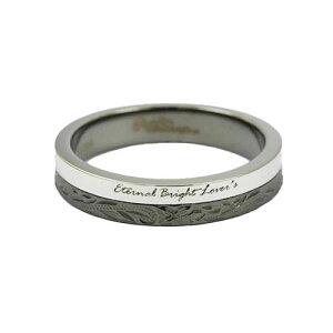 Sepia ハワイアンジュエリー 指輪 リング メンズ レディース ペア ステンレス ブラック シルバー 金属アレルギー 対応 21号 0011pms-082-21 プレゼント ギフト 細め ペアリング 女性 女の子