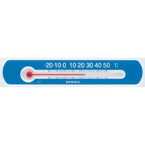 EMPEX 温度計 マグネットサーモ・ミニ ヨコ型 TG-2526 ブルー