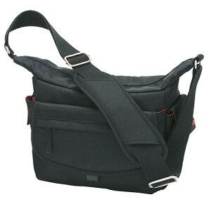 エツミ シュープリーム カメラバッグ WP-1 カーボンブラック カメラ鞄 肩掛け 収納量 収納力 カメラバッグに見えないスナップ専用バッグ