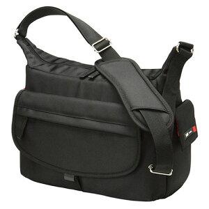 エツミ シュープリーム WP-2 カーボンブラック カメラ鞄 肩掛け 収納量 収納力 カメラバッグに見えないスナップ専用バッグ
