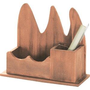 ミニ ペンスタンド 木製 ペンホルダー 鉛筆立て えんぴつたて えんぴつ立て ぺんたて シンプル 卓上 天然木 机上 カトラリースタンド リモコン収納 小物収納 リモコンラック おしゃれ