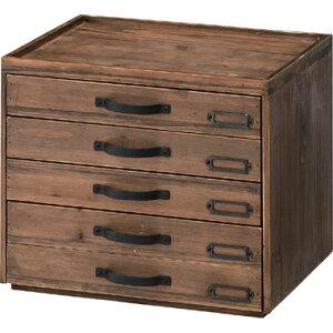 レターケース a4 ドキュメントチェスト 5段 引き出し 収納 天然木 木製 収納ボックス 収納ケース 小物入れ ファイルケース 書類収納 レターラック 小物収納 卓上整理 机上整理 文具収納 レト