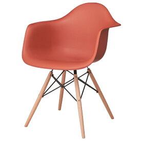 ダイニングチェア 天然木 スチール 食卓チェアー 食卓椅子 いす イス 椅子 ダイニングチェアー レトロ モダン 北欧 ブルックリン 西海岸 男前 インテリア おしゃれ アンティーク カントリー かわいい オレンジ
