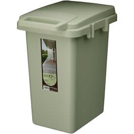 ダストボックス 45リットル フタ付き ふた付き ごみ箱 ゴミ箱 トラッシュカン トラッシュボックス コンテナ リビング 台所 キッチン 野外 インテリア アンティーク 北欧 レトロ モダン ブルックリン 西海岸 カントリー おしゃれ