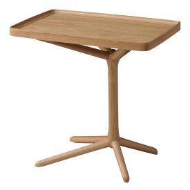 完成品 サイドテーブル 幅54cm 木製 スリム コンパクト ナイトテーブル ベッドサイドテーブル ソファーサイドテーブル レトロ モダン 北欧 ブルックリン 西海岸 男前 インテリア おしゃれ アンティーク ナチュラル