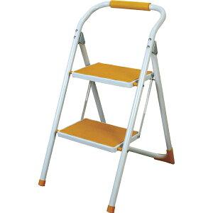 脚立 折りたたみ ステップ台 スツール 踏み台 昇降運動 おしゃれ 2段 折り畳み シンプル 折り畳み踏み台 台 はしご 階段 引越し イエロー