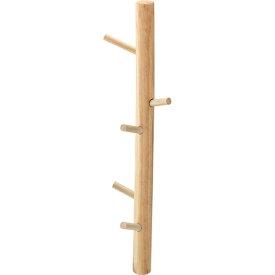 ウォールハンガー 木製 天然木 吊り下げ収納 かける収納 コートハンガー 壁掛け 鞄掛け 帽子掛け 壁掛け収納 壁掛けラック 収納 小物収納 雑貨 アンティーク 北欧 フレンチカントリー おしゃれ ナチュラル