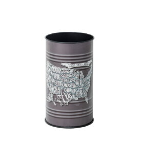 ダストボックス トラッシュカン ラウンド 円形 丸 ごみ箱 ゴミ箱 トラッシュボックス リビング 台所 キッチン インテリア アンティーク 北欧 レトロ モダン ブルックリン 西海岸 カントリー おしゃれ