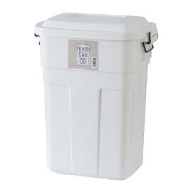 トラッシュカン ダストボックス フタ付き ふた付き ごみ箱 ゴミ箱 トラッシュボックス リビング 台所 キッチン 野外 インテリア アンティーク 北欧 レトロ モダン ブルックリン 西海岸 カントリー おしゃれ ホワイト