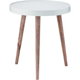 サイドテーブル 幅45cm トレーテーブル 木製 スリム コンパクト ナイトテーブル ベッドサイドテーブル ソファーサイドテーブル レトロ モダン 北欧 ブルックリン 西海岸 男前 インテリア おしゃれ アンティーク