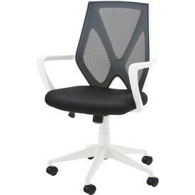 オフィスチェア キャスター付き メッシュ デスクチェア デスク チェアー パソコンチェア 学習椅子 学習チェア キッズチェア 事務椅子 おしゃれ ホワイト