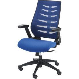 オフィスチェア キャスター付き メッシュ 事務椅子 パソコンチェア デスクチェア デスク チェアー 学習椅子 学習チェア キッズチェア おしゃれ ブルー