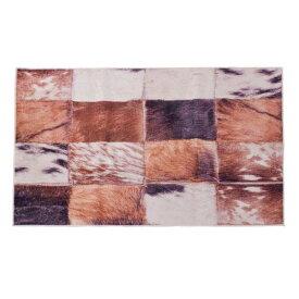 ラグマット 90x130cm ラグ マット カーペット じゅうたん 絨毯 センターラグ リビングラグ デザイン ハラコパッチワーク シンプル おしゃれ 北欧 高級感