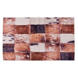 ラグマット 130x180cm ラグ マット カーペット じゅうたん 絨毯 センターラグ リビングラグ デザイン ハラコパッチワーク シンプル おしゃれ 北欧 高級感