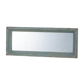 鏡 壁掛け 木製 壁掛 天然木 ウォールミラー ミラー かがみ カガミ レトロ アンティーク レトロ モダンヨーロピアン おしゃれ