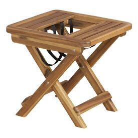 折りたたみサイドテーブル 幅45cm 木製 マガジンラック 収納 スリム コンパクト 折り畳み ナイトテーブル ベッドサイドテーブル ソファーサイドテーブル レトロ モダン 北欧 ブルックリン 西海岸 男前 インテリア おしゃれ アンティーク