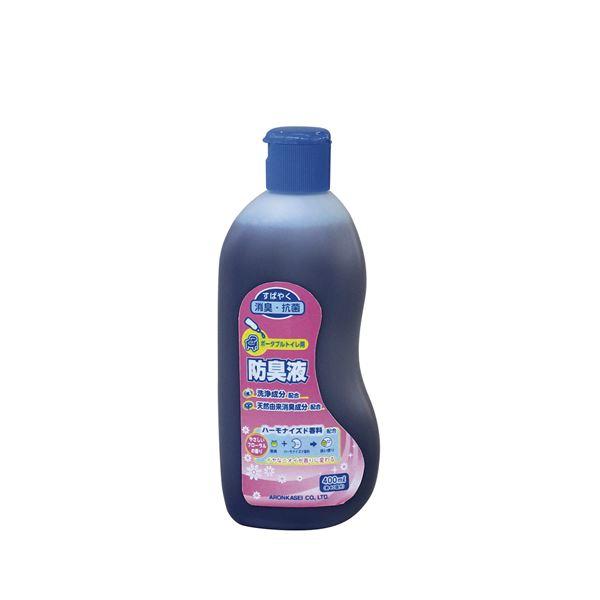 (まとめ)アロン化成 消臭剤 トイレ用防臭液 アロン化成 3909 533-204【×3セット】