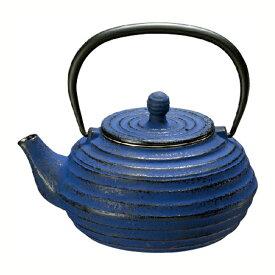 【数量限定】鉄瓶 波地/ブルーベリー 0.8L