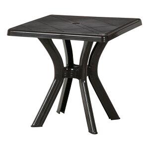 送料無料 スクエアテーブル 73×73cm ガーデンテーブル アンジェロ ダイニング アンジェロ プールサイド リゾート 庭 屋外 野外 アウトドア カフェ アジアン モダン シンプル おしゃれ かわい