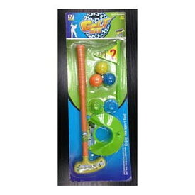 送料無料 6個入り パターゴルフセット おもちゃ キッズ 子供