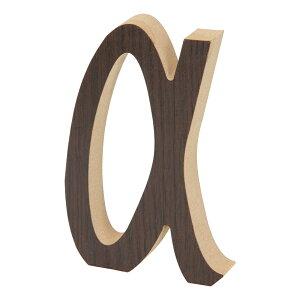 送料無料 12個セット 木製アルファベット α 英文字 ウォールデコ 看板文字 サインプレート インテリア 置物 オブジェ ディスプレイ 雑貨 おしゃれ